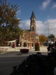 Kirchplatz in Nattheim Mit freundlicher Genehmigung Gemeinde Nattheim