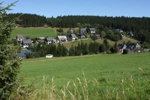 Ortsansicht Tellerhäuser Blick zum Einsberg Mit freundlicher Genehmigung Fotograf Harald Wunderlich