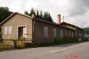 DSC04104 14.Juli 2008 Bild des Bahnhofes Antonsthal